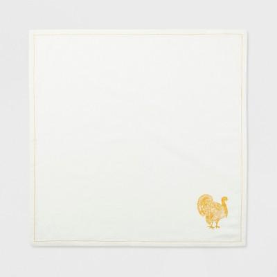 4pk Turkey Napkin Off White - Threshold™