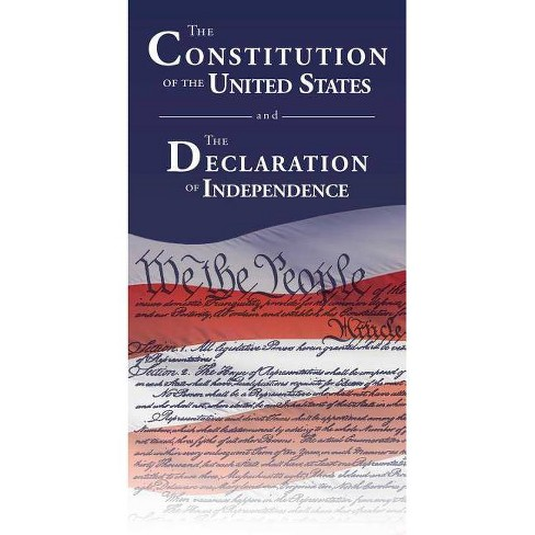 The Constitution of the United States and the Declaration of Independence - (Paperback) - image 1 of 1