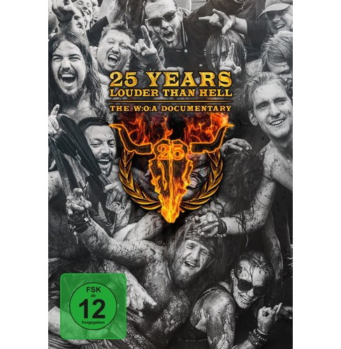 25 years louder than hell:Woa docum (DVD) - image 1 of 1