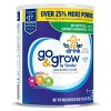 Go & Grow by Similac Toddler Drink Powder - 30.8oz - image 3 of 4
