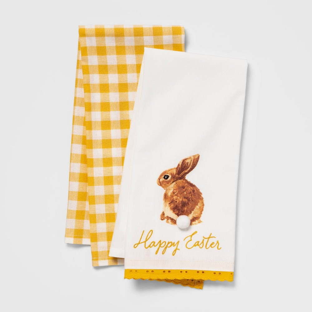 Image of Happy Easter Towel Set, Kitchen Towel