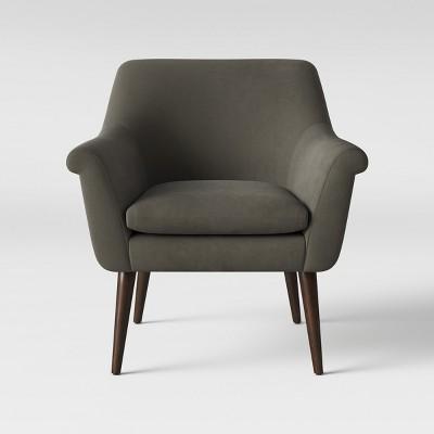 Rodovre Arm Chair Velvet Smoke - Project 62™