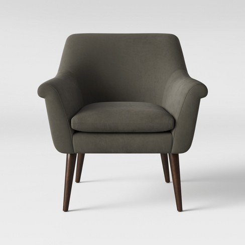 Rodovre Arm Chair Velvet Smoke - Project 62™ - image 1 of 5