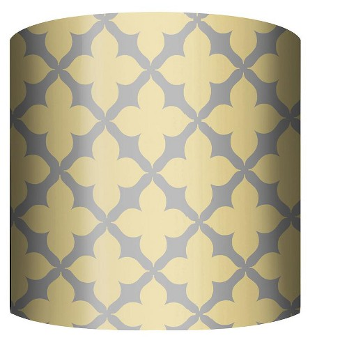 """PTM Images 10-0038 Fleur 10"""" Tall x 12"""" Wide Cylinder Fabric Lamp Shade - image 1 of 1"""