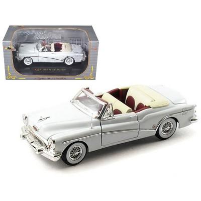 1953 Buick Skylark Convertible White 1/32 Diecast Model Car by Signature Models