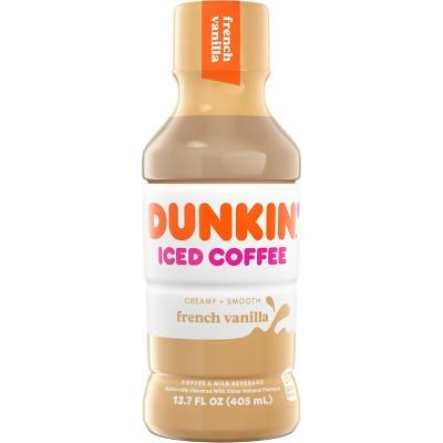 Dunkin Donuts French Vanilla - 13.7 fl oz Bottle