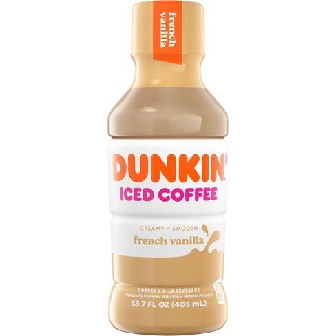 Dunkin Donuts French Vanilla - 13.7 fl oz Bottle - image 1 of 4
