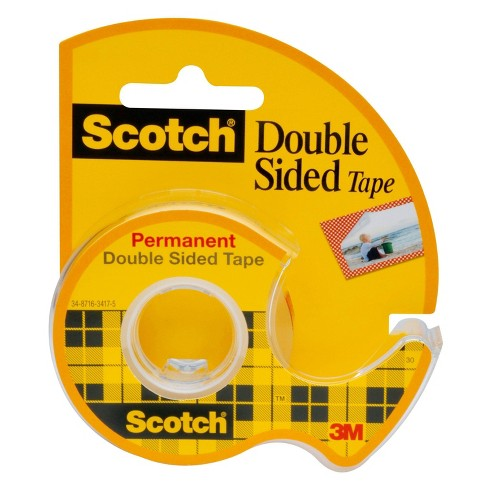 "Scotch Double Sided Permanent Tape .75"" x 300"" - image 1 of 3"