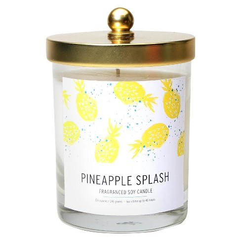 Jar with Lid Candle Pineapple Splash - Soho Brights - image 1 of 1