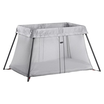 BabyBjorn Travel Crib Light - Silver