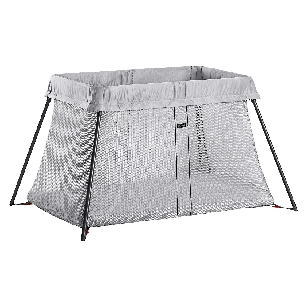 Image of BABYBJORN Travel Crib Light - Silver
