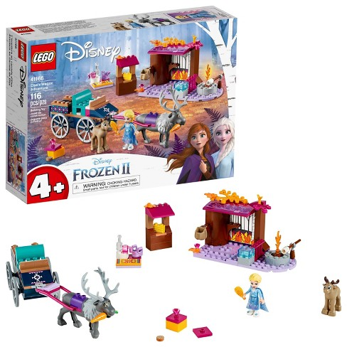 LEGO Disney Frozen II Elsa's Wagon Carriage Adventure Building Kit and Elsa Doll 41166 - image 1 of 4