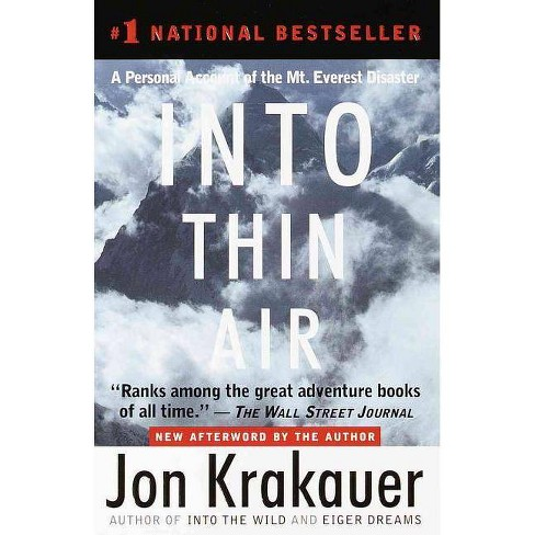 Into Thin Air - by  Jon Krakauer (Hardcover) - image 1 of 1