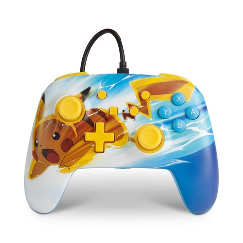 PowerA Enhanced Wired Controller for Nintendo Switch - Pikachu Electric Fade - image 1 of 4