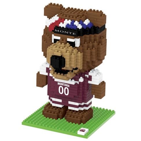 NCAA Montana Grizzlies 3D BRXLZ Mascot Puzzle 1000pc - image 1 of 1