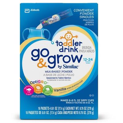 Similac® Go & Grow Toddler Drink Powder Sticks - Vanilla - 16ct