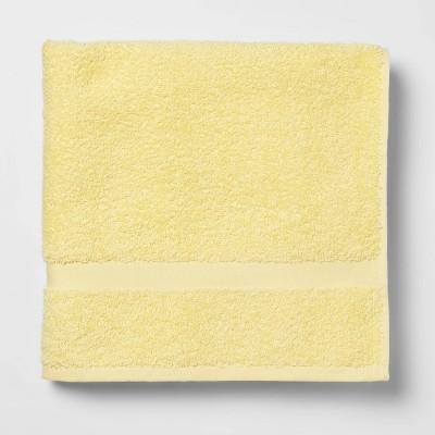 Bath Towel Yellow - Room Essentials™
