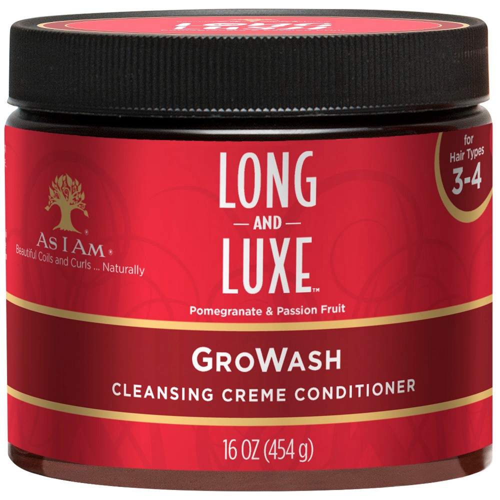Image of As I Am Long & Luxe Growash Conditioner - 16oz