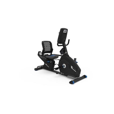 Nautilus R618 Recumbent Exercise Bike Black Target
