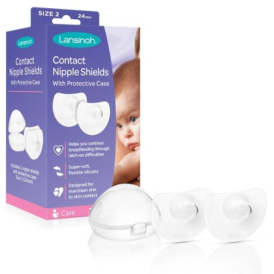 Lansinoh Contact Nipple Shield - 24mm - 2ct