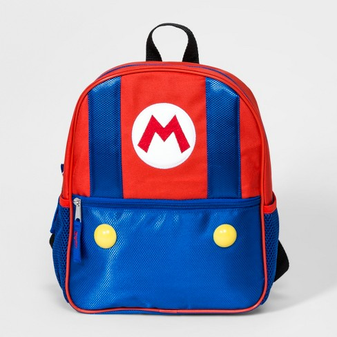 Boys' Super Mario Backpack - Red/Blue - image 1 of 2