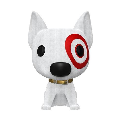 Funko POP! Ad Icons: Target - Flocked Bullseye (SDCC Debut) - image 1 of 2