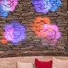 Gemmy Lightshow Projection   Flower (Pink/Blue/Purple/Yellow), Multicolored - image 2 of 2
