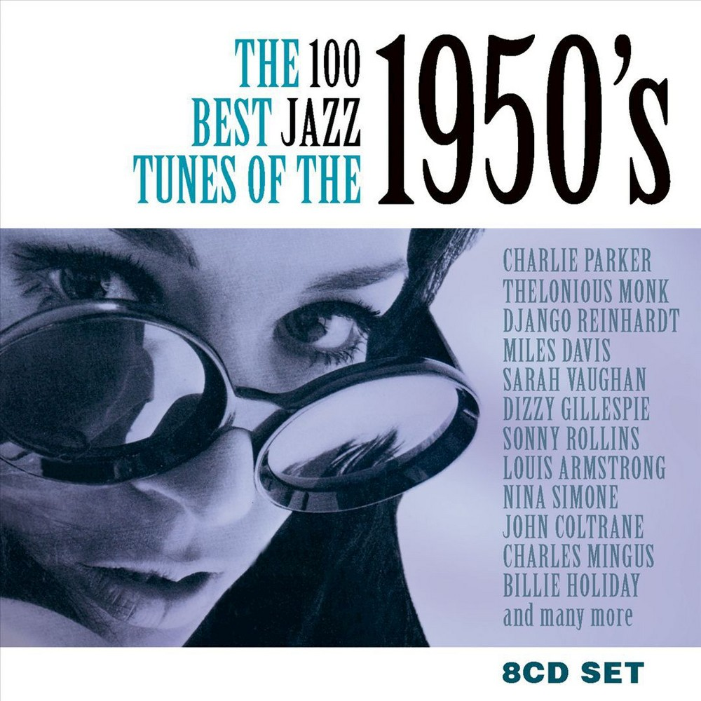 Various - 100 Best Jazz Tunes Of The 1950s (CD)