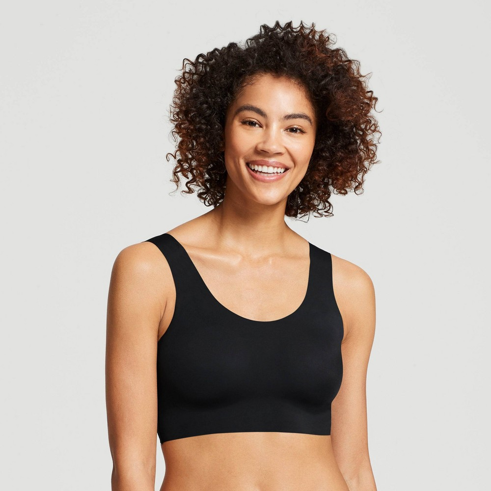 True & Co. True Everybody Women's Scoop Neck Bra - Black 2X