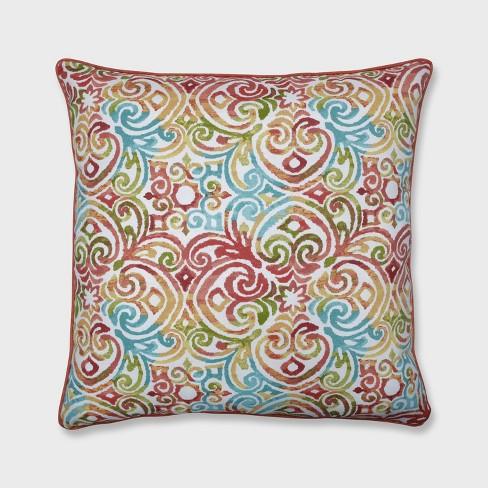 25 Corinthian Outdoor Floor Pillow Dapple Blue Pillow Perfect Target