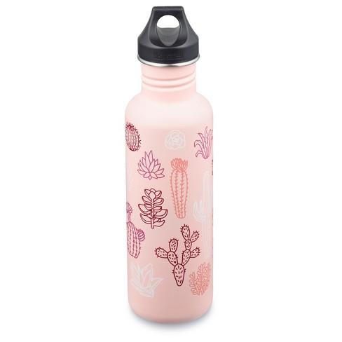0cfa5a63ea0f Klean Kanteen® 27oz Succulents Print Classic Water Bottle - Pink   Target