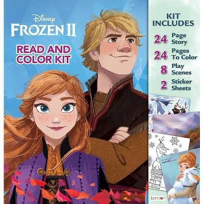 Frozen 2 Read & Color Kit