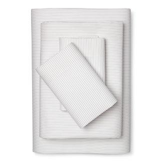Twin/Twin XL Microfiber Sheet Set Sleek Silver - Room Essentials™