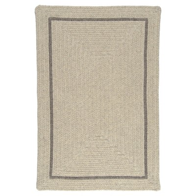 Shear Natural Braided Area Rug - Colonial Mills