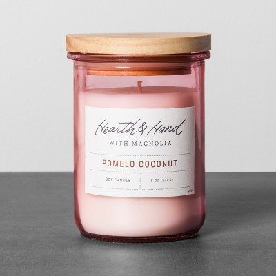Lidded Jar Candle - Pomelo Coconut - Hearth & Hand™ with Magnolia