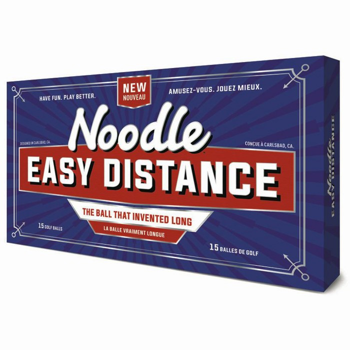 TaylorMade Easy Distance Noodle Golf Balls 15 Pack - image 1 of 2