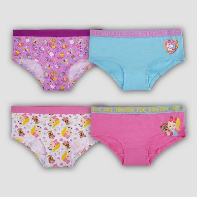 Girls' JoJo Siwa 4pk Underwear