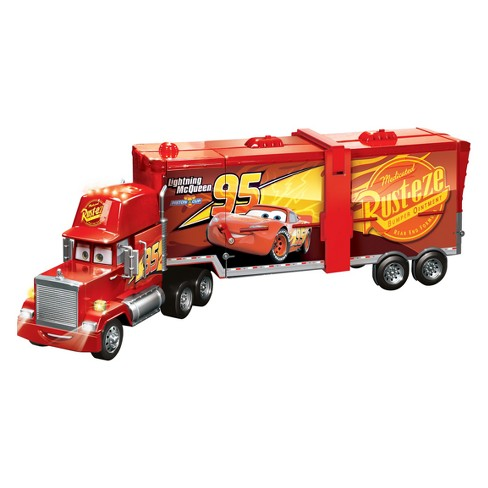 Disney Pixar Cars Super Track Mack Playset - image 1 of 4