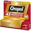 Orajel 4X Medicated For Toothache & Gum Cream - 0.33oz - image 3 of 3