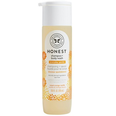 The Honest Company Everyday Gentle Shampoo & Body Wash Sweet Orange Vanilla - 10 fl oz