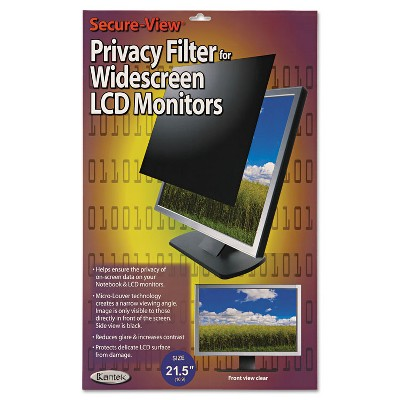 """Kantek Secure View LCD Monitor Privacy Filter For 21.5"""" Widescreen SVL215W"""