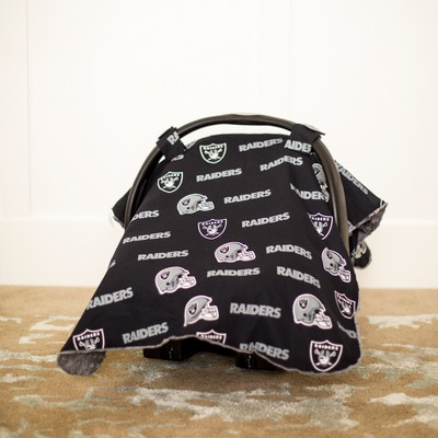 Oakland Raiders Carseat Canopy