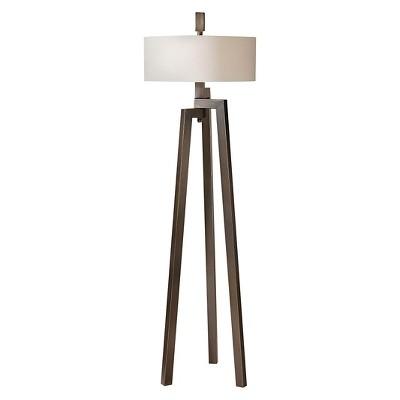 Uttermost Mondovi Modern Floor Lamp - Bronze