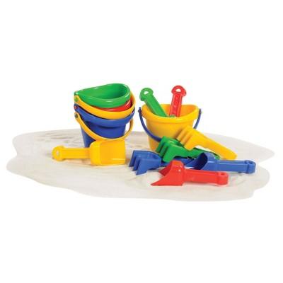"Kaplan Early Learning 4"" Mini Sand Bucket Set - 12 Pcs"