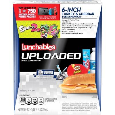 Oscar Mayer Lunchables Turkey Cheddar Sub - 15oz