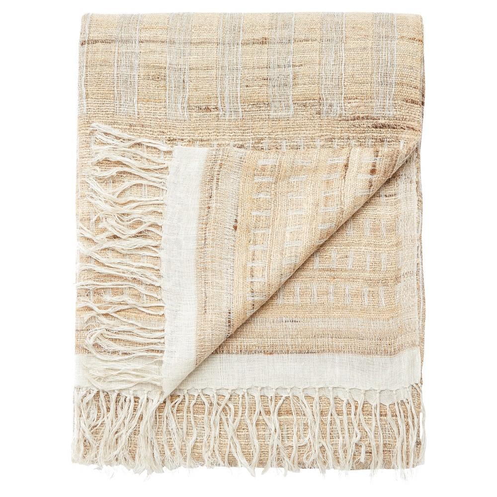 Throw Blankets Beige (22