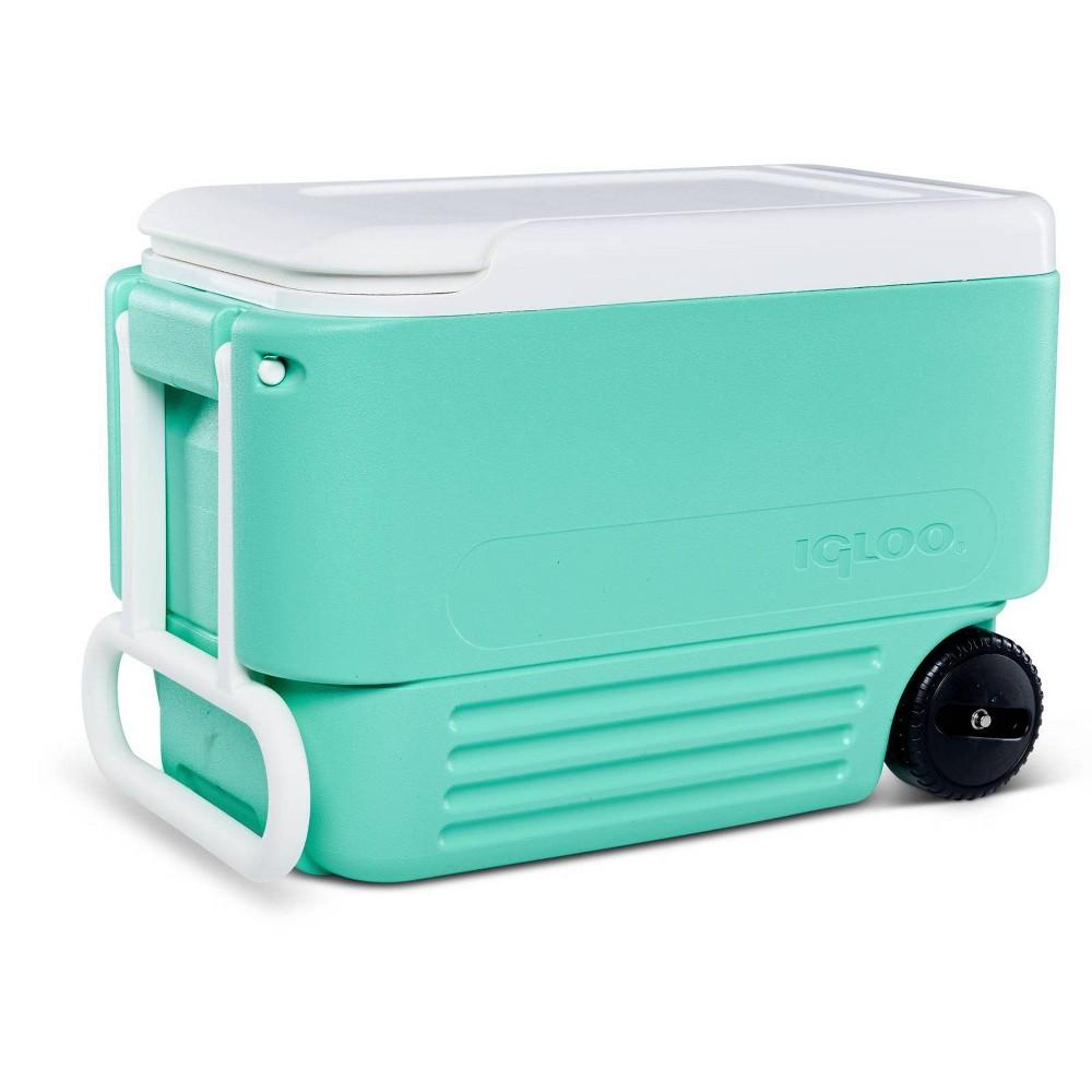 Image of Igloo 38qt Wheelie Cooler - Mint
