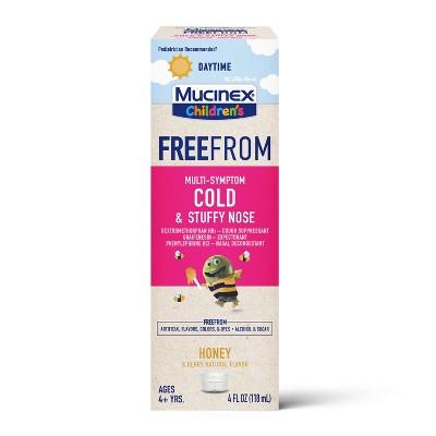 Mucinex Children's Multi-Symptom Cold & Stuffy Nose Suppressant - 4 fl oz
