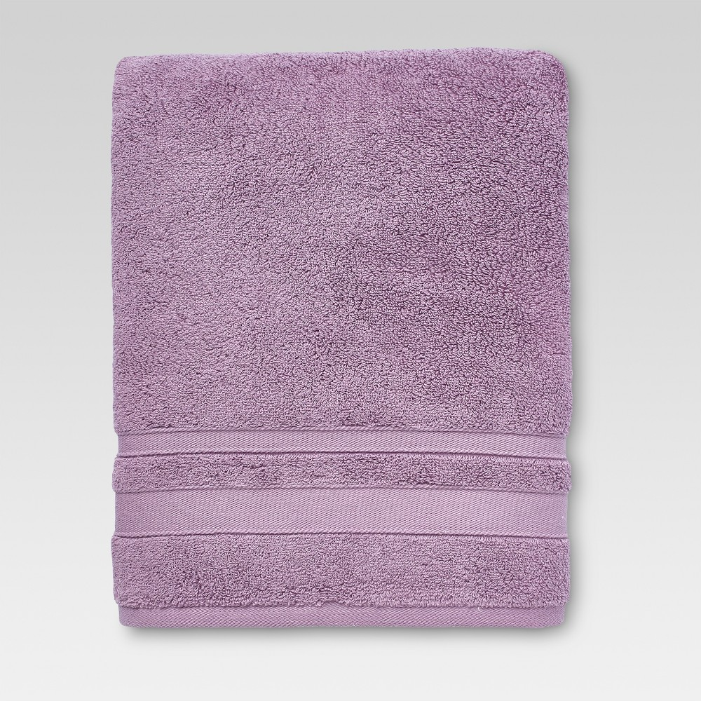 Performance Bath Towel Lilac Purple - Threshold