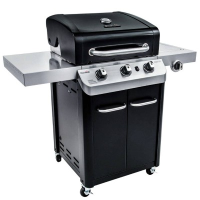 Char-Broil 3-Burner Gas Grill #463348017 - Black